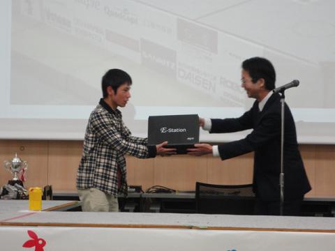 ヒト型レスキューロボット杯表彰式